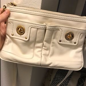 White Leather Marc By Marc Jacobs Cross Body